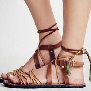 Free People Willow Sandals - wrap around